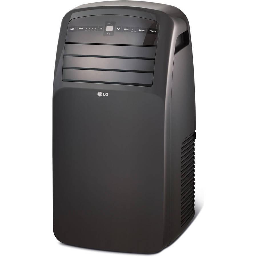 lg electronics btu portable air conditioner 115v walmartcom