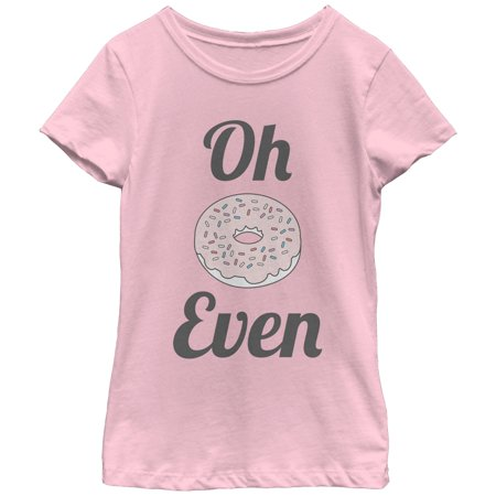 Chin Up Girls' Oh Donut Even T-Shirt