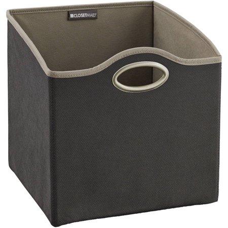 Closetmaid Small Accessory Fabric Bin  Grey