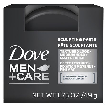Dove Men+Care Hair Styling Sculpting Paste 1.75 oz.(pack of 2)