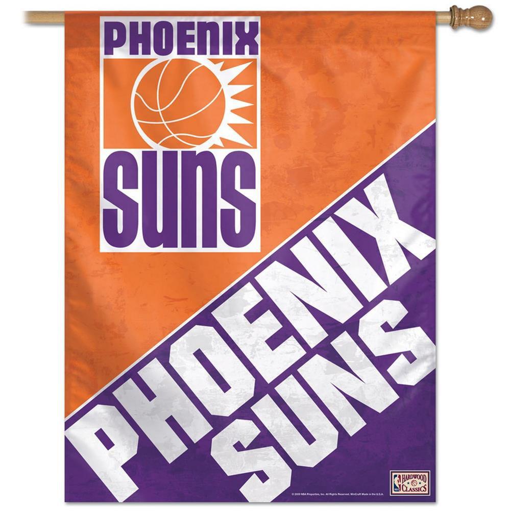 Phoenix Suns Flag Throwback House Flag Banner WN-HouseRetro-PHOS