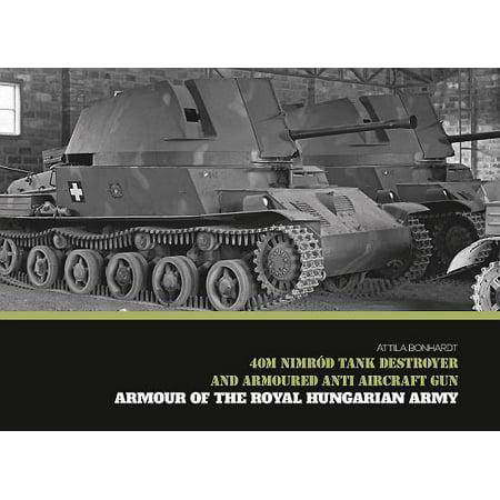 40m Nimród Tank Destroyer and Armoured Anti Aircraft Gun