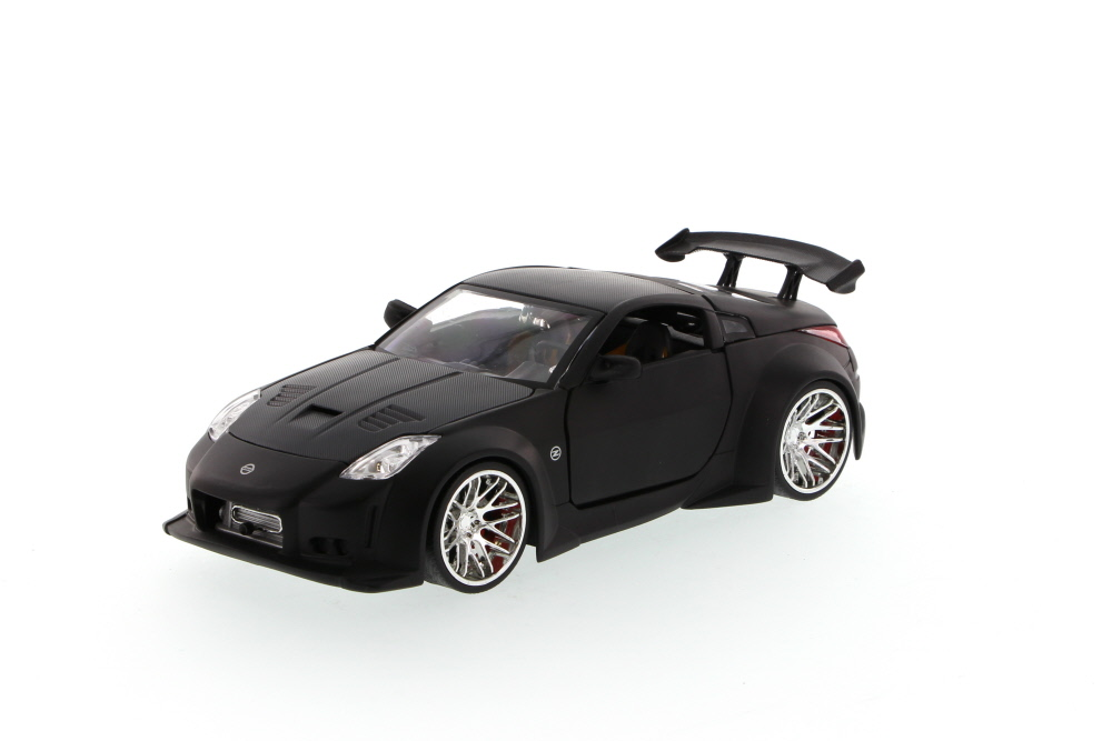 Nissan 350Z, Black Jada Toys Bigtime Kustoms 92354 1 24 scale Diecast Model Toy Car (Brand... by Jada