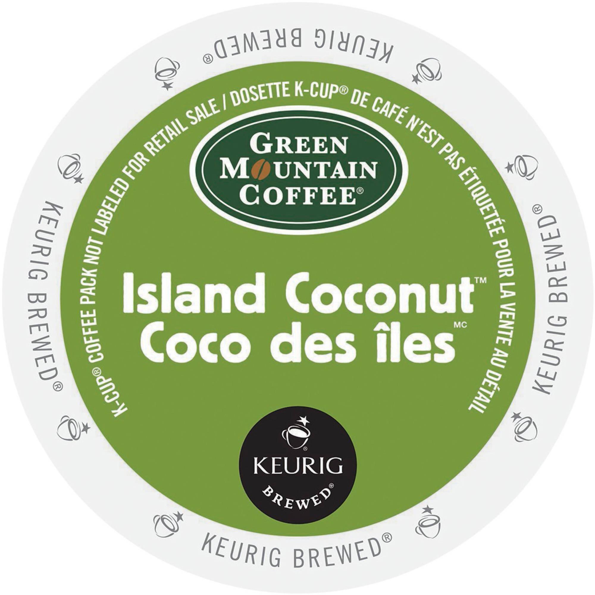 Green Mountain Coffee Island Coconut Single Serve Coffee K-Cups, 225g