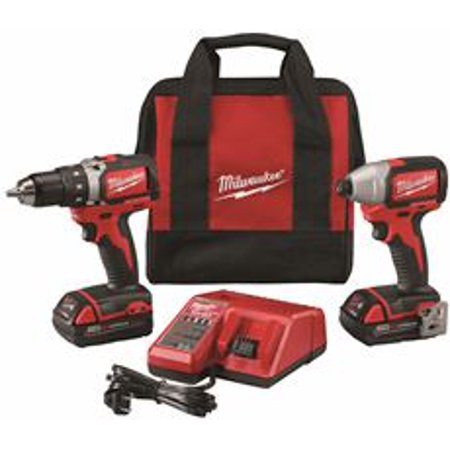 M18 Drill/Impact Combo, PartNo 2798-22CT, by Milwaukee Elec Tool, Single Unit