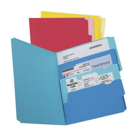 - Pendaflex Divide-It-Up 3-Section File Folder, Letter, Multiple, Pack Of 24