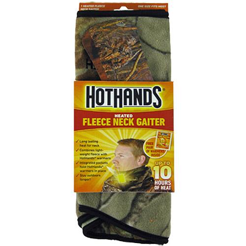HotHands Heated Fleece Neck Gaiter