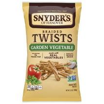 Pretzels: Snyder's Braided Twists