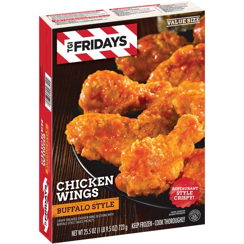 T.G.I. Friday(')s Buffalo Style Chicken Wings. 25.5 oz