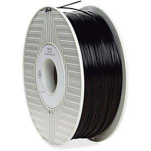 Verbatim, PLA 3D Filament 1.75mm, 55250 1kg Reel, Black