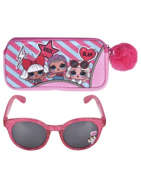 LOL Surprise Girl's Sunglass and Case Set