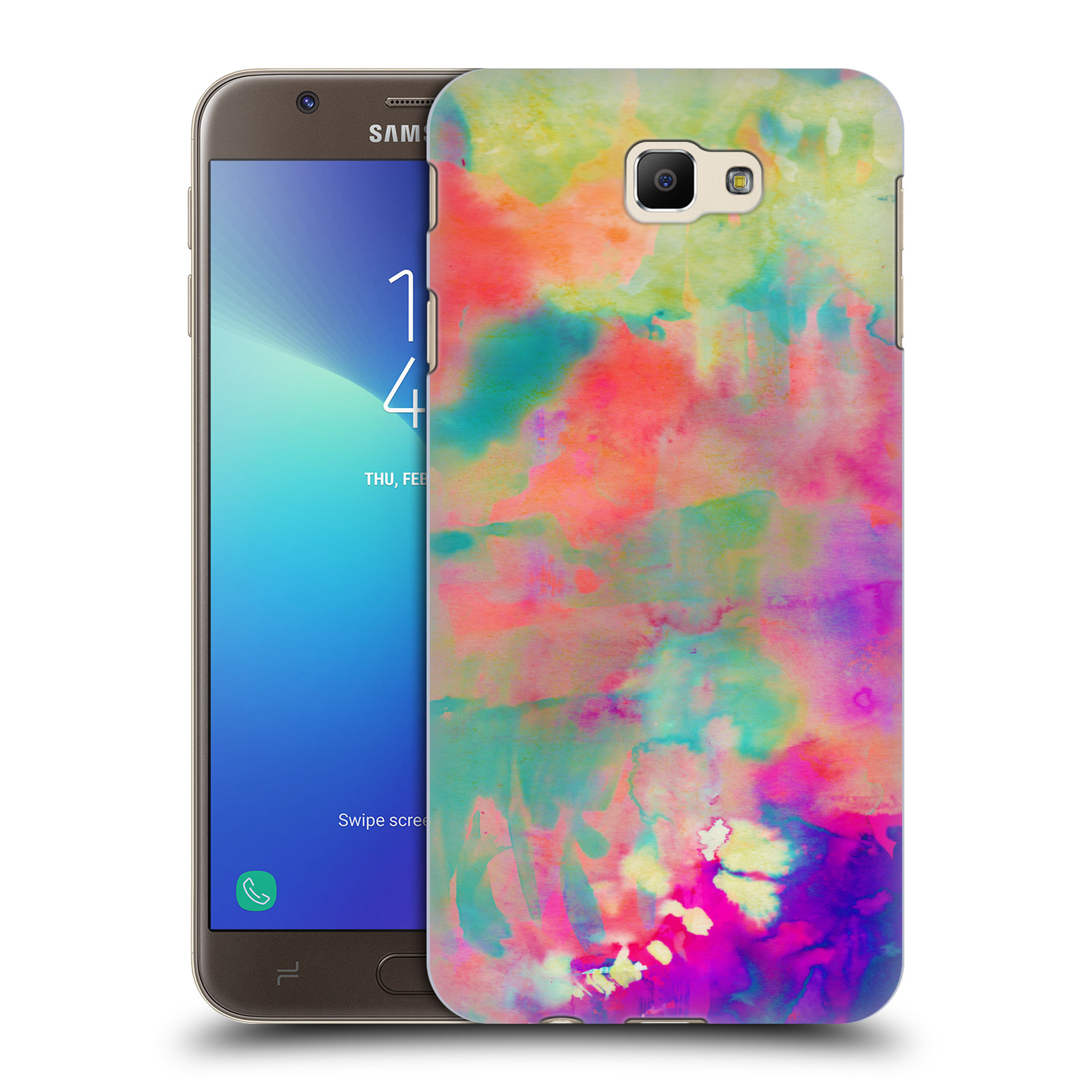 OFFICIAL AMY SIA ABSTRACT COLOURS HARD BACK CASE FOR SAMSUNG PHONES 3