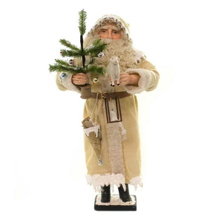 Christmas A COLD WINTERS NIGHT SANTA Polyresin Vintage Vickie Smyers Vs6996