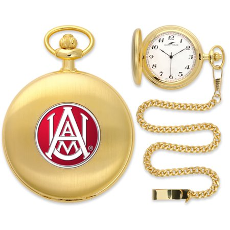 Alabama A Bulldogs Ncaa Gold Pocket Watch