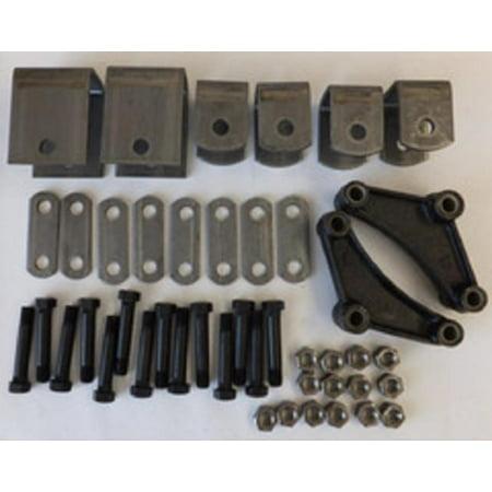 Reliable EK2-D102 Tandem Axle Equalizer Kit - 1 3/4in. Spring - Short