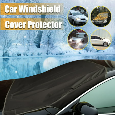 4 colors Car Truck Magnet Windshield Windscreen Cover Sun Snow Ice Frost Protector US (Best Car Cover For Snow And Ice)