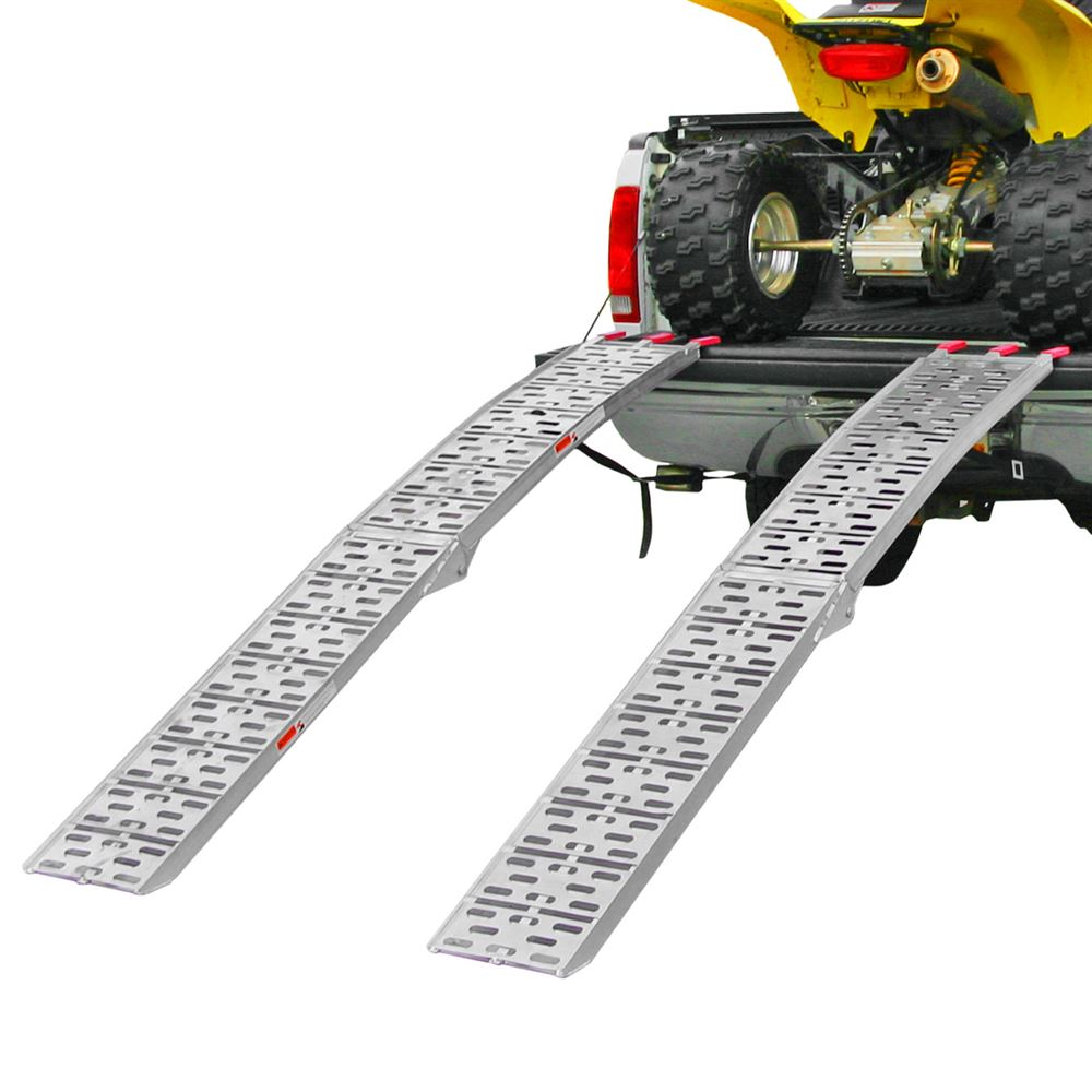Black Widow AFP-9012-2 Dual Runner ATV Ramp Finger-Style Lip, Plate Surface