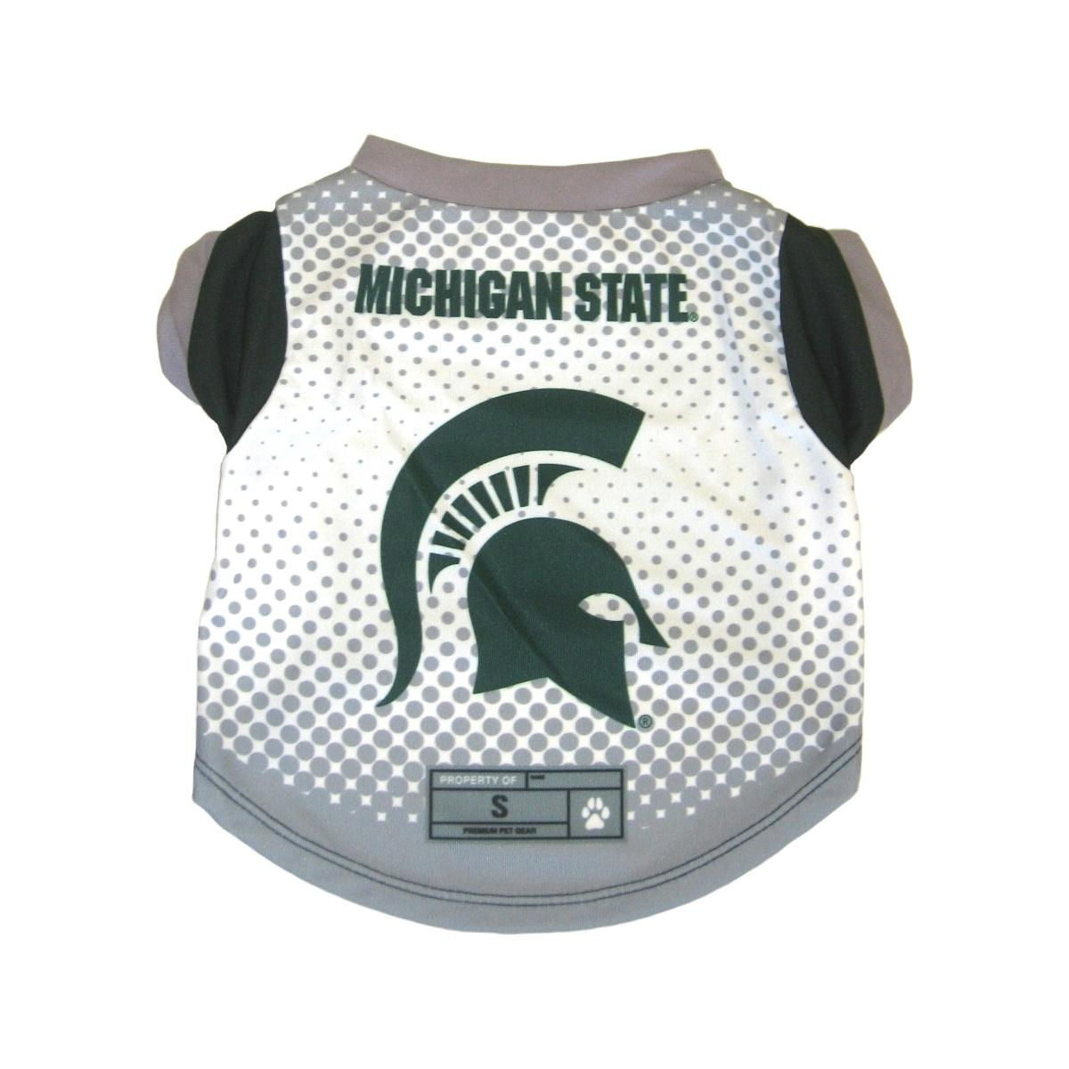Michigan State Spartans Pet Performance Tee - Small