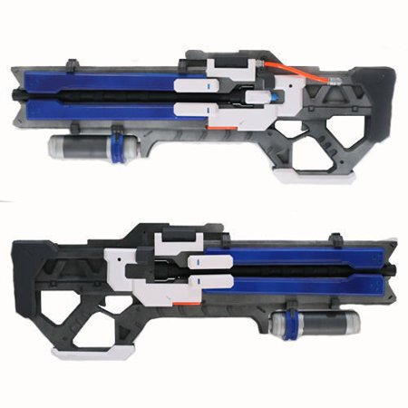 Game Overwatch OW Soldier 76 Custom Gun Toys Weapon Christmas Halloween Cosplay Props