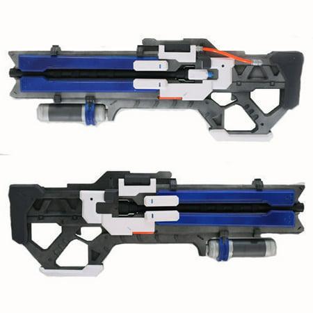 Fun Blaster Halloween Games (Game Overwatch OW Soldier 76 Custom Gun Toys Weapon Christmas Halloween Cosplay)