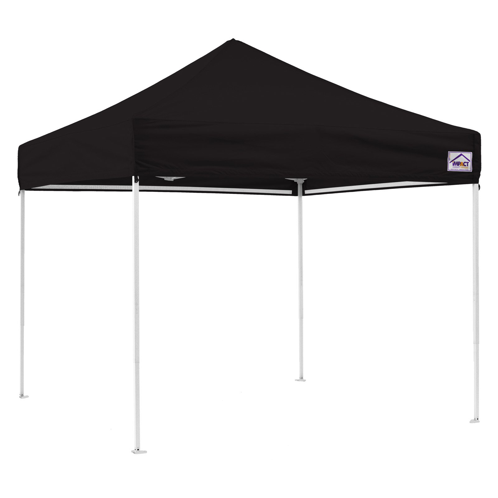 Impact Canopy 10 x 10 ft. EZ Pop Up Canopy with Weight Bags and