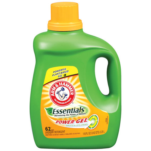 Arm & Hammer Essentials Power Gel Laundry Detergent, 110 fl oz