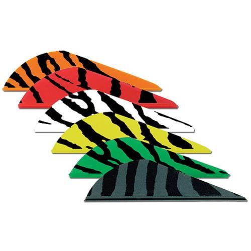 Bohning Blazer Tiger Archery Vane, 100-Pack, Green