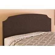 Hilale Furniture Lawler King Headboard Black Brown Fabric