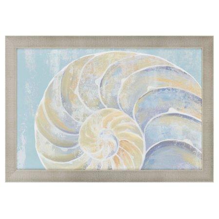 Paragon Wall Decor - Paragon Decor Pastel Shell II Framed Wall Art
