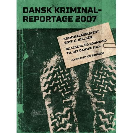Billige øl og sodavand til det danske folk - eBook (Billige Brillengläser)