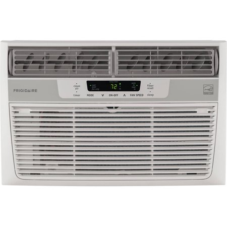 Frigidaire Ffre0833s1 8 000 Btu 115V Window Mounted Mini Compact Air Conditioner With Temperature Sensing Remote Control