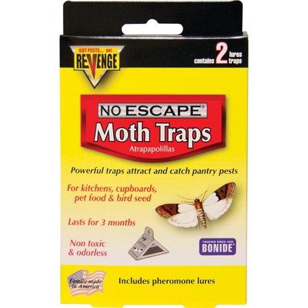 BONIDE PRODUCTS INC No Escape Moth Traps, 2-Pk.