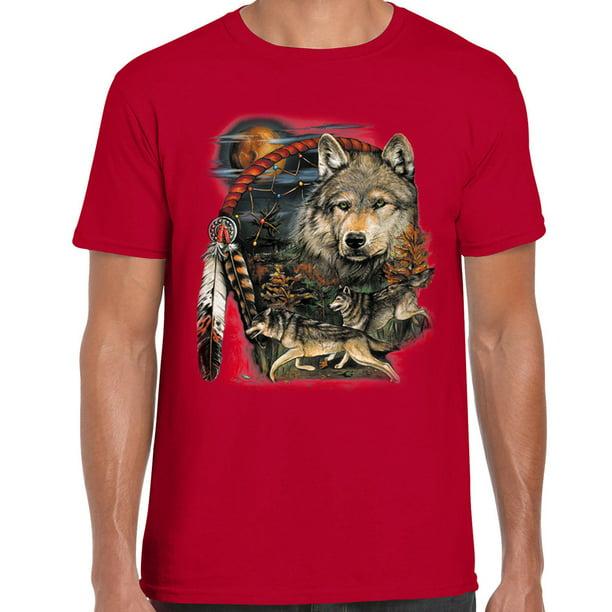 CUTE HEART NATIVE AMERICAN DREAM CATCHER Mens 100/% COTTON T-shirt TEE Shirt
