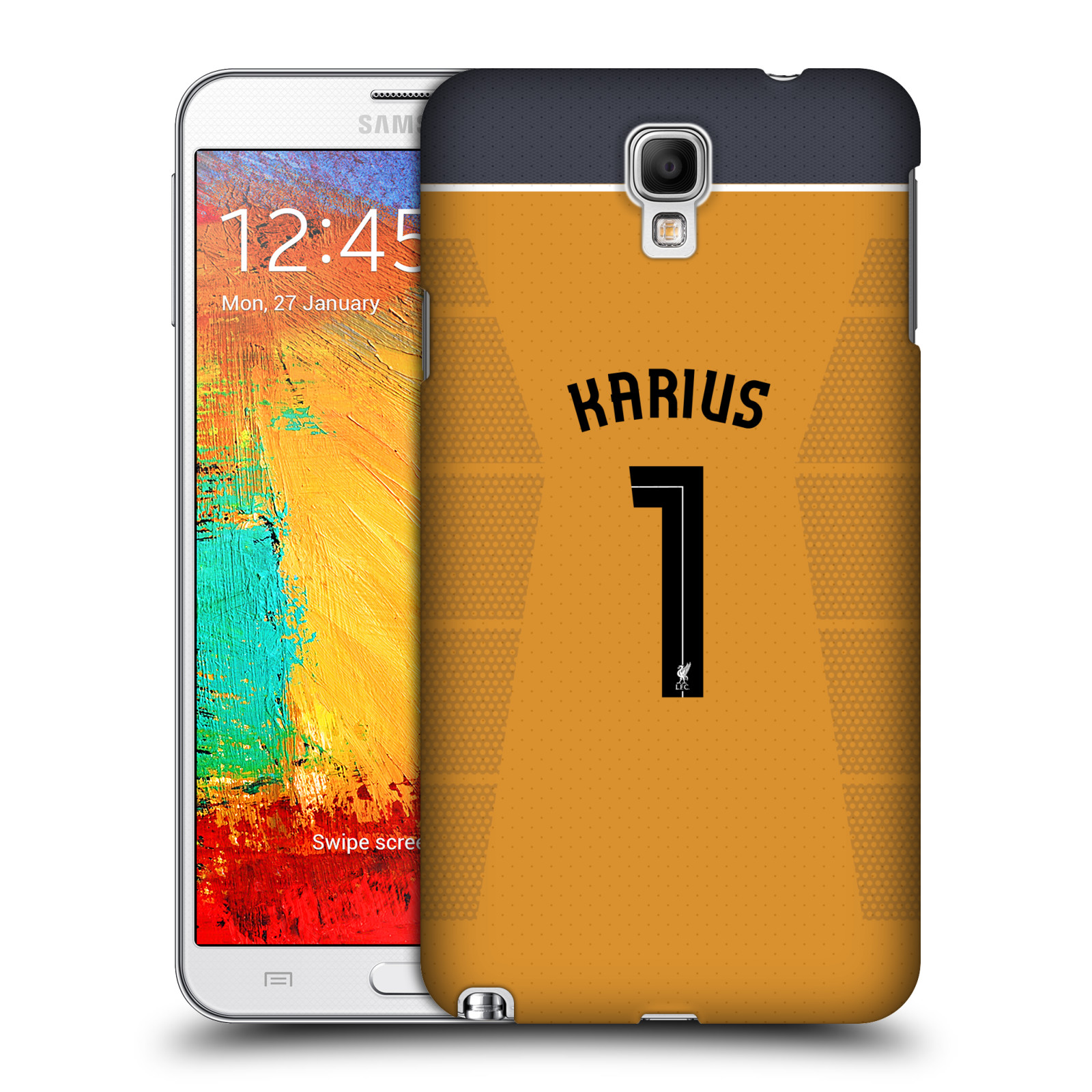 OFFICIAL LIVERPOOL FOOTBALL CLUB PLAYERS AWAY KIT 16/17 GROUP 2 HARD BACK CASE FOR SAMSUNG PHONES 2