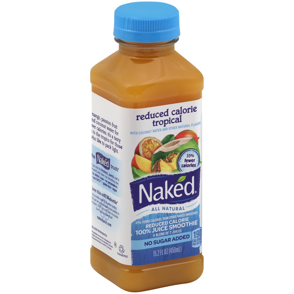 Naked Juice Strawberry Banana Pure Fruit 100% Juice