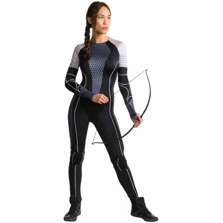 The Hunger Games Catching Fire Katniss Women's Adult Halloween Costume](Spongebob Games Halloween)