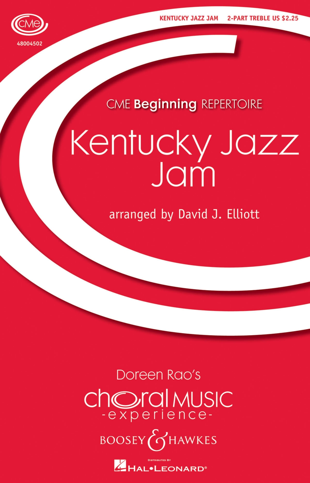 Boosey and Hawkes Kentucky Jazz Jam (CME Beginning) 2PT TREBLE arranged by David Elliott by Boosey and Hawkes