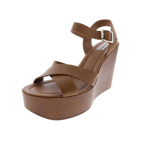 pretty cool amazing selection exquisite style Steve Madden Womens Piranna Leather Wedge Platform Sandals