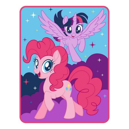 My Little Pony Twinkle Magic Twin Kids Bedding Throw, 1 -