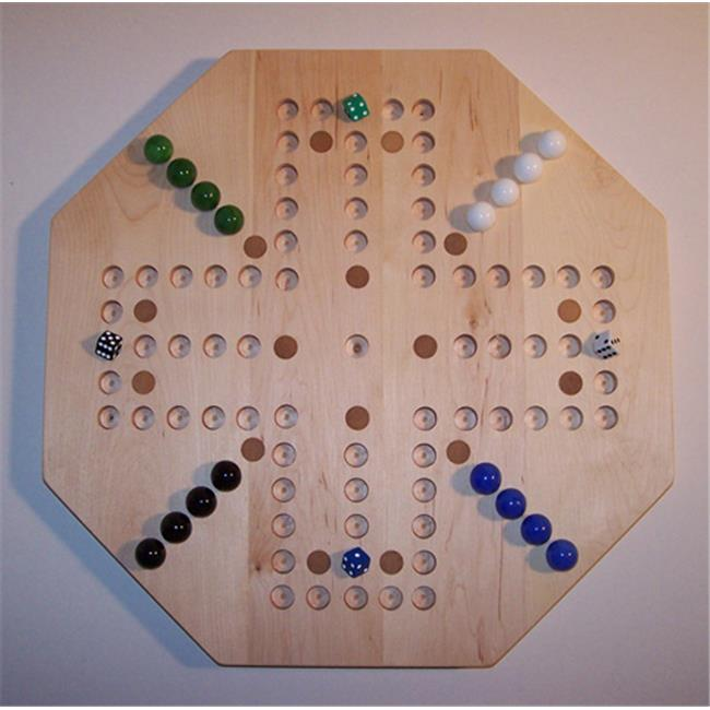 Charlies Woodshop W-1940alt.-3 Wooden Marble Game Board - Hard Maple