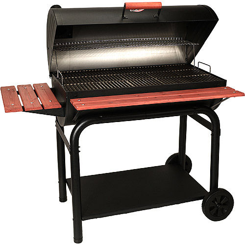 Char-Griller 725 sq. inch Outlaw Charcoal Grill,  Black