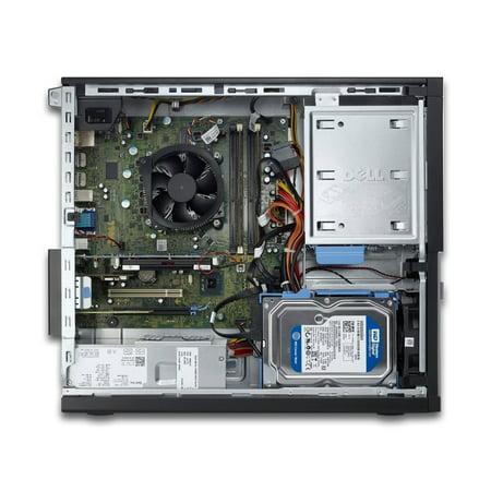 Dell OptiPlex 9010, Desktop, Intel Core i3-3220 up to 3.30 GHz, 32GB DDR3, NEW 1TB SSD, DVD-RW, No Operating System - image 3 de 3
