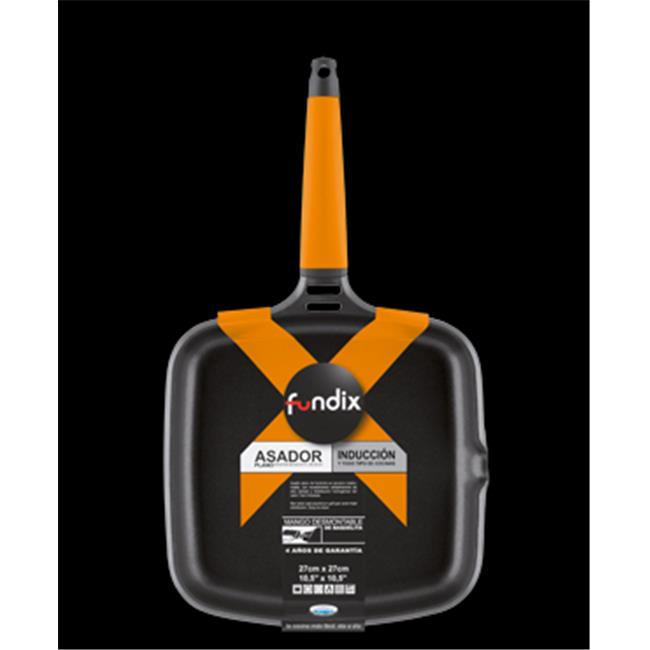 Fundix F5-IP27 Griddle with Removable Handle - Orange
