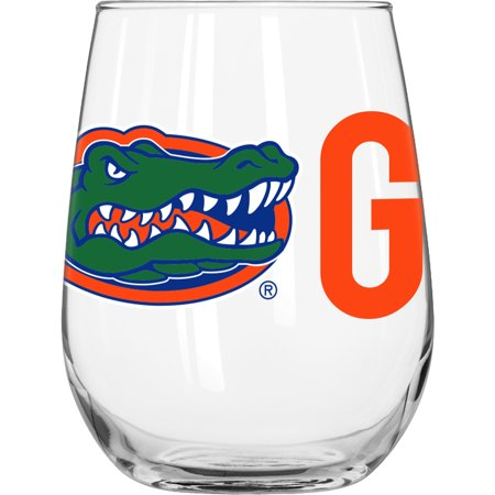University of Florida 16 oz. Overtime Curved Beverage Glass