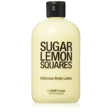 Hempz Treats Body Lotion, 18.6 Oz (Sugar Lemon Squares)