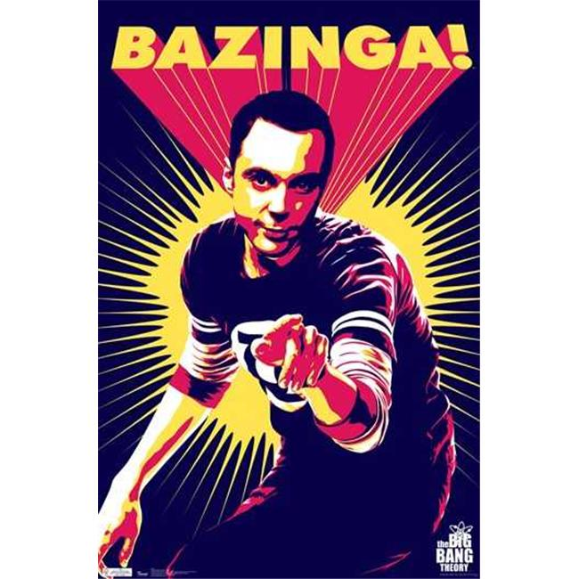 Trends International TIARP1533 Big Bang TheorySheldon -22 x 34- Poster Print