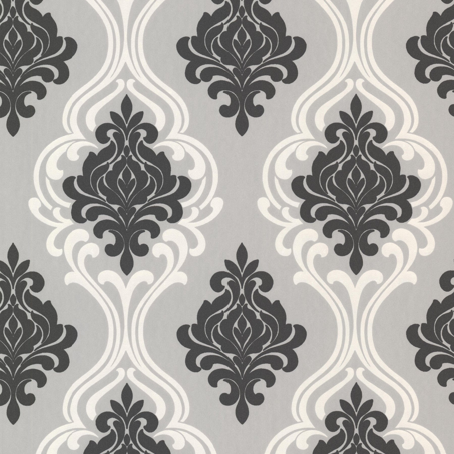 Decorline Indiana Damask Wallpaper Walmartcom