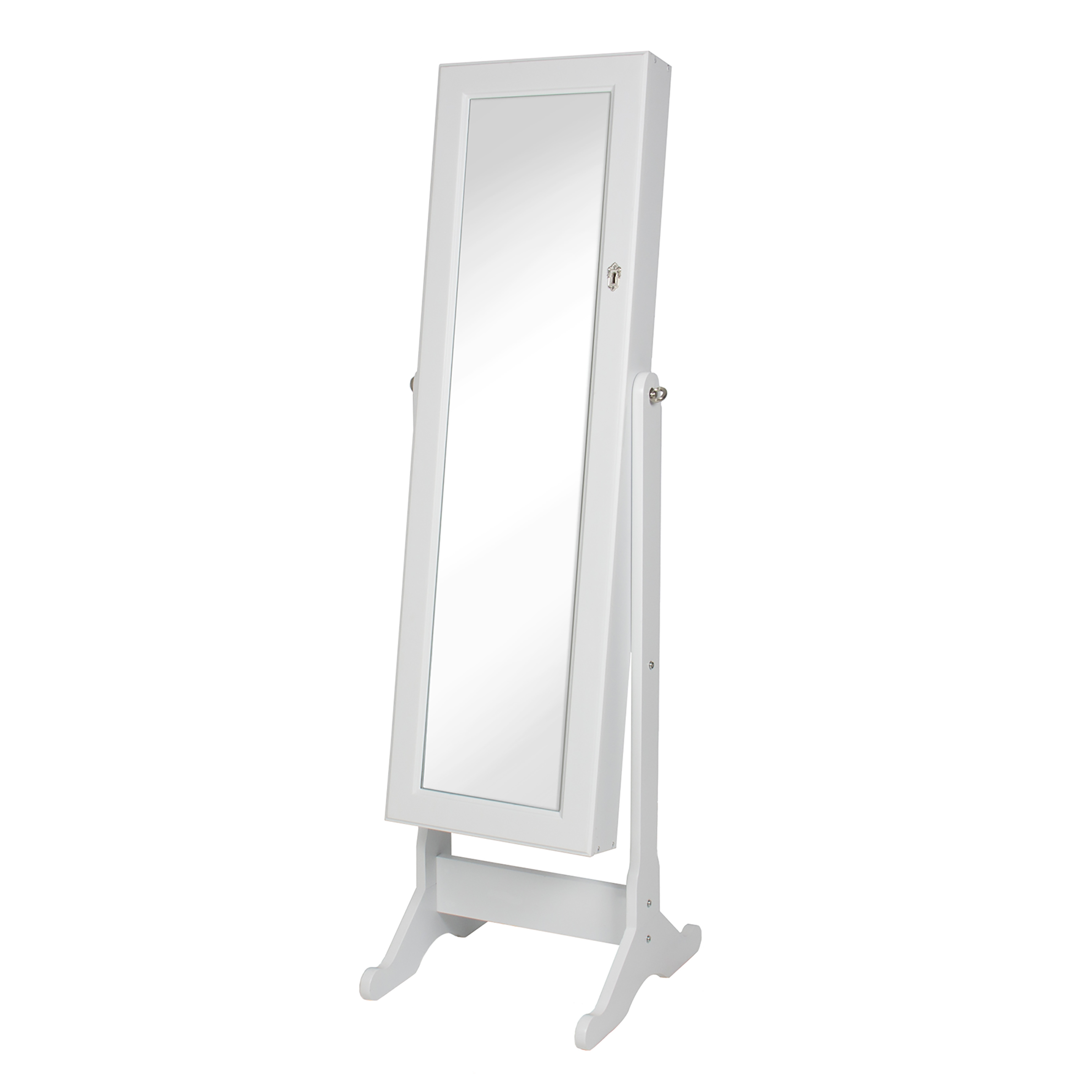 mirror cabinet ip com armoire jewelry cheval cherry heritage walmart
