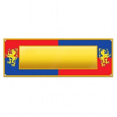 mpany  Medieval Sign Banner - Pack of 12 - image 1 of 1