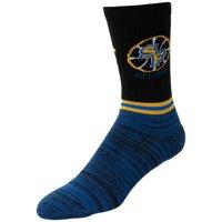 Golden State Warriors Block Crew Socks - L